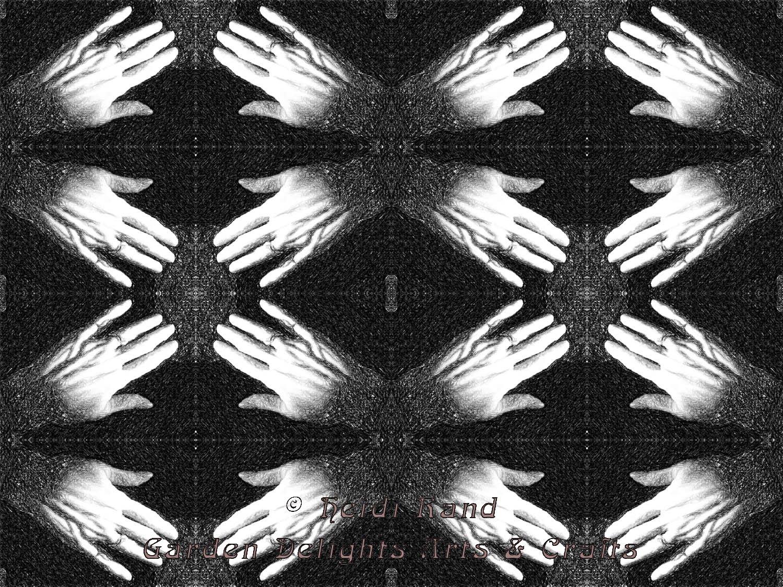 Hands kaleidoscope