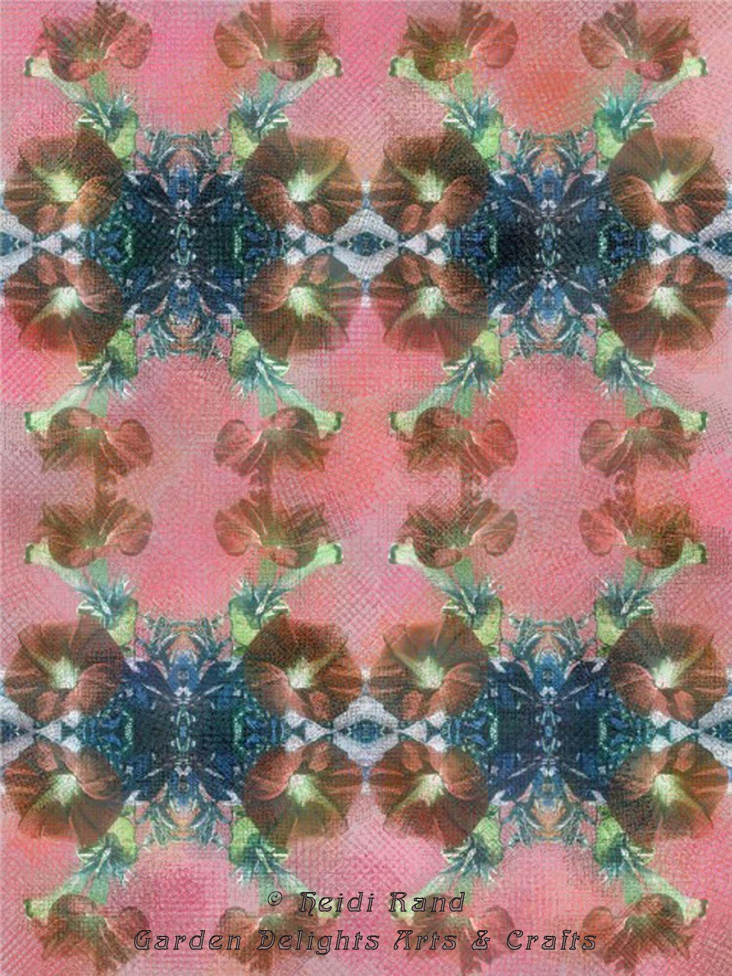 Morning glory kaleidoscope