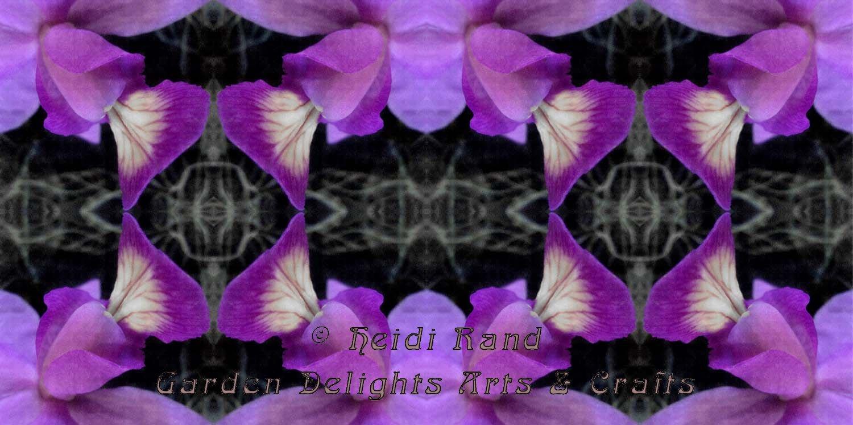 Purple orchid kimono kaleidoscope