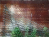Rust and fence