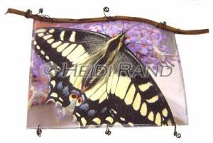 Swallowtail butterfly lutradur hanging