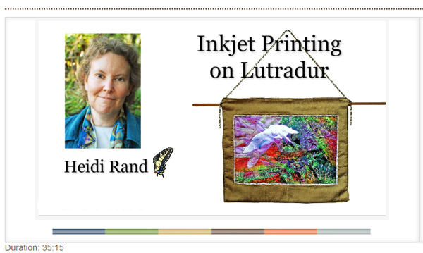 Inkjet Printing on Lutradur