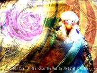 Parakeet Rose collage