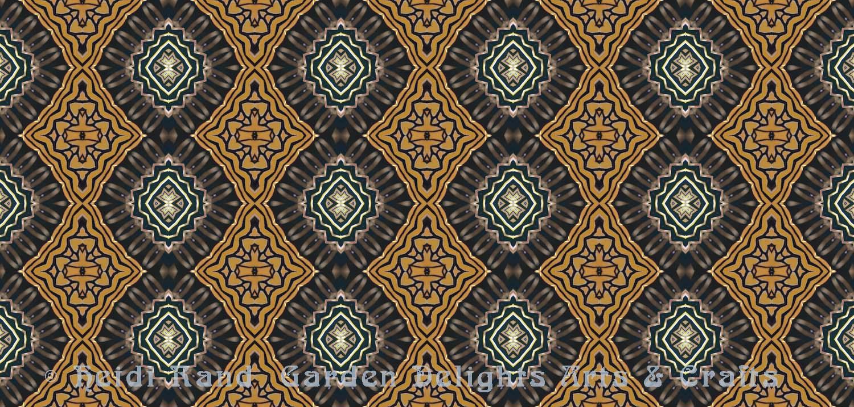 Monarch geo kaleidoscope