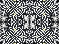 Swallowtail cutout kaleidoscope