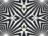 Swallowtail cutout op art