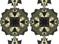 Swallowtail cutout round