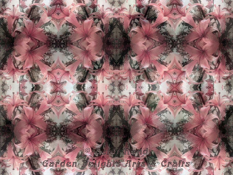 Lilies kaleidoscope