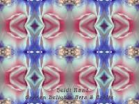 Double delight rose kaleidoscope