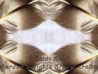 Feather detail kaleidoscope