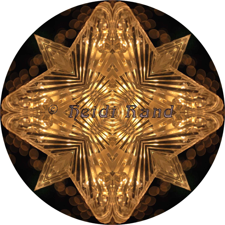 Ornament star mandala